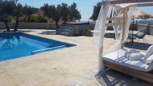 The swimming pool at or near Hacienda Maxine