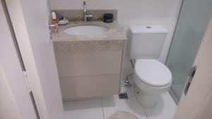 A bathroom at Sossego na Transcarioca