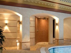 Ein Badezimmer in der Unterkunft Hotel & Restaurant Gut Hungenbach