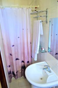 A bathroom at M Hotel