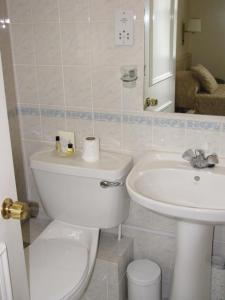 A bathroom at Richmond Park Hotel
