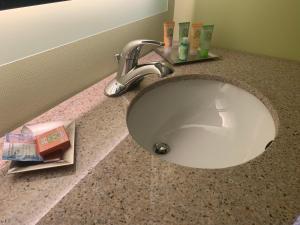 A bathroom at Wyndham Garden Fort Wayne