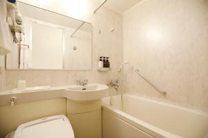 A bathroom at Tokyo Green Hotel Korakuen