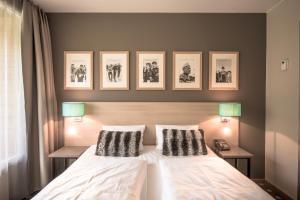 Cama o camas de una habitación en Myrkdalen Resort Hotel