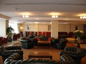 The lobby or reception area at Ard Ri House Hotel