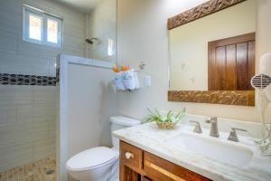 A bathroom at Ocean Breeze