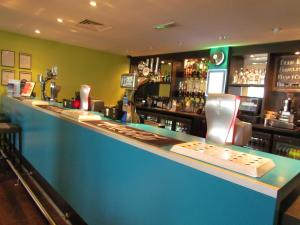 The lounge or bar area at Heeton Concept Hotel - City Centre Liverpool