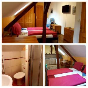 Palanda nebo palandy na pokoji v ubytování Bella Vita