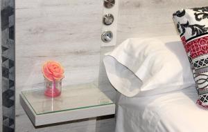 Ванная комната в Hotel Restaurante Santos