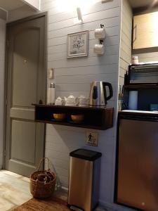 Una cocina o kitchenette en TREE LODGE CHILOE
