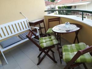 Balkón nebo terasa v ubytování APARTMENT LUCIA