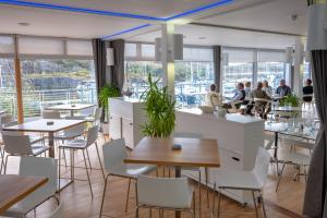 A restaurant or other place to eat at Portavadie Loch Fyne Scotland