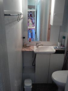 A bathroom at Коттедж Арнуво