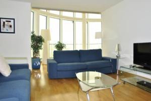 Zona de estar de Parque Nacoes Prime Apartments