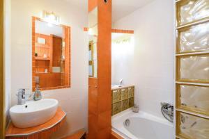 Łazienka w obiekcie Nowogrodzka Apartment