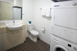 A bathroom at Quest Palmerston - Darwin