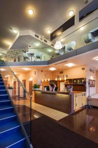 The lobby or reception area at Academic Hotel & Congress Centre