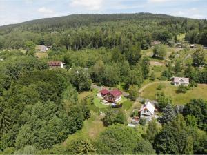 A bird's-eye view of Rezidence Gutwirtovi