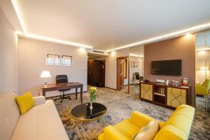 Кът за сядане в Hotel Imperial Plovdiv, a member of Radisson Individuals