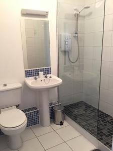 A bathroom at Wexford Town Centre Apartment