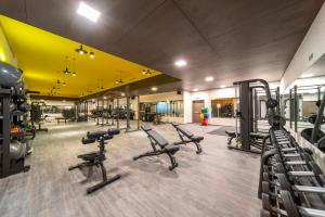 The fitness center and/or fitness facilities at Five Jumeirah Village