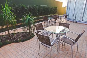 Uma varanda ou terraço em Gran Hotel Morada do Sol