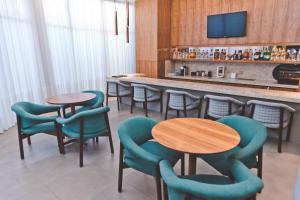 O lounge ou bar de Gran Hotel Morada do Sol