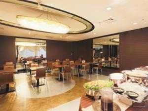 Restaurant ou autre lieu de restauration dans l'établissement APA Hotel Yamagata Tsuruoka Ekimae