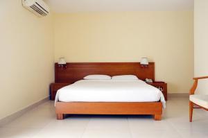 Giường trong phòng chung tại Khách sạn Đồng Nai