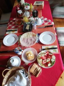 Grill Garten Vendégház reggelit is kínál
