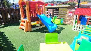 Children's play area at Hippo Lodge Apartments