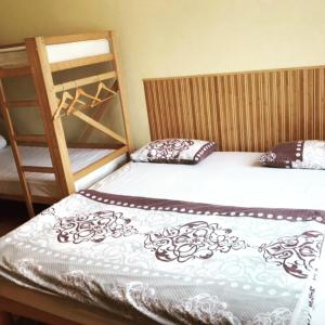 A bed or beds in a room at Like Hostel