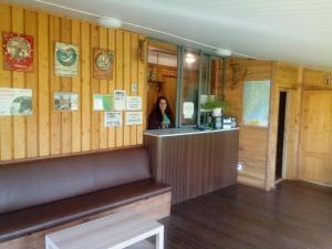 Лобби или стойка регистрации в Natsionalnyy Park Ladozhskiye Shkhery-Dachi Mikli