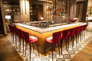The lounge or bar area at Manto Hotel Lima - MGallery