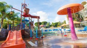 Children's play area at Howard Johnson by Wyndham Anaheim Hotel & Water Playground