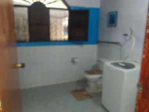 A bathroom at Casa El Garaje
