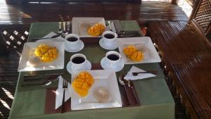 Breakfast options available to guests at AJ's Place Beach Resort