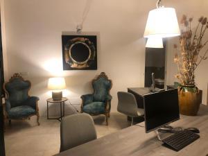 A seating area at Agriturismo Giorgio