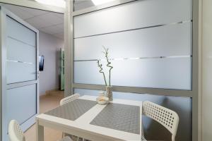 Kuchnia lub aneks kuchenny w obiekcie Apartament Sopot