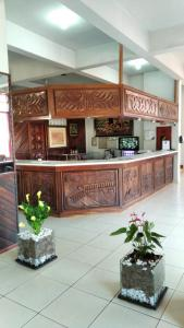The lobby or reception area at Hotel HS