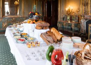 Breakfast options available to guests at Cliveden House