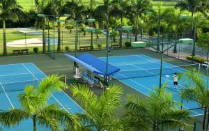 Ping-pong facilities at Camela Hotel & Resort or nearby