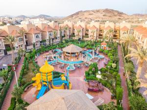 A bird's-eye view of Meral Oasis Resort Taif