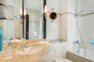 Ein Badezimmer in der Unterkunft Best Western Soibelmanns Lutherstadt Wittenberg