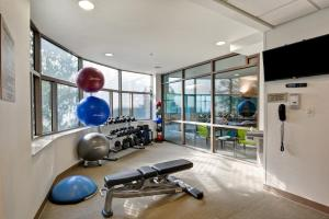 The fitness center and/or fitness facilities at SpringHill Suites by Marriott Cincinnati Midtown