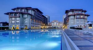 The swimming pool at or near Radisson Blu Resort & Spa Cesme