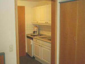 Küche/Küchenzeile in der Unterkunft Apparthotel am Friedrichspark