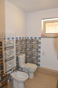 A bathroom at Casa Caprioara