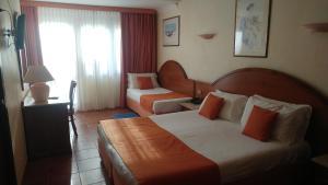 Cama o camas de una habitación en Hotel Florida