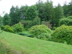 A garden outside Le Ry D'ave